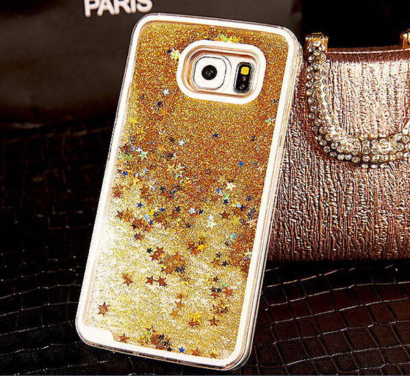 size 40 9e73b 814b8 Bling Bling Dynamic Liquid Glitter Sand Quicksand Star Case Cover ...