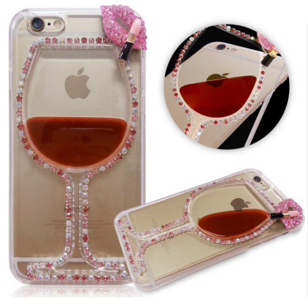 new product 7def2 e91ad Bling Jeweled IPhone 7 Plus ladies Cases Back Cover For iPhone 6 6S ...