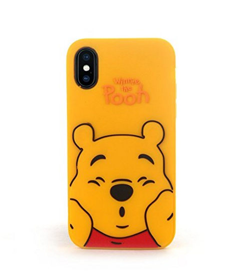more photos 899d4 db828 Cool Winnie the Pooh iPhone X Cases Fashion Stitch Phone Cases For ...