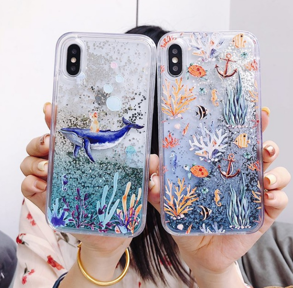whale phone case iphone xr