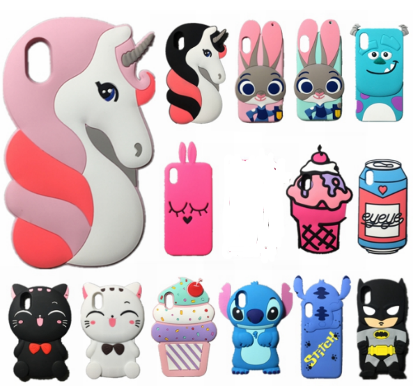 Unicorn Phone Case For Iphone X 3D