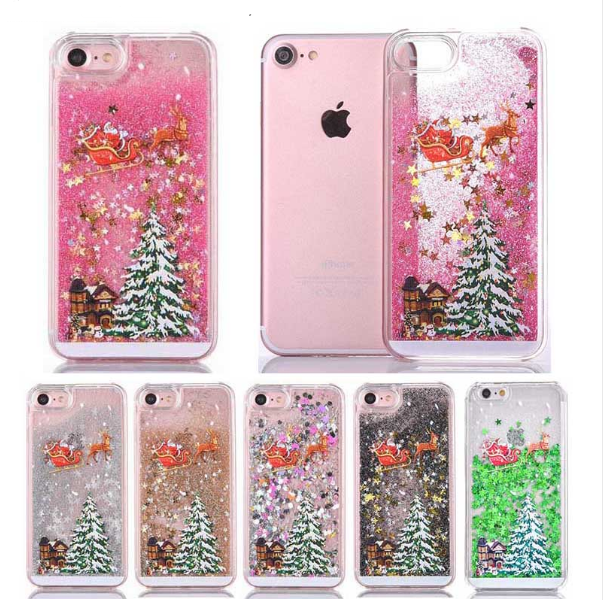 lowest price 26b37 55a54 iPhone 8 Christmas Phone Cases For Gift Christmas Tree SHinning ...