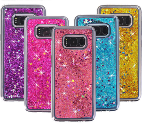 Galaxy S8 S9 Plus Bling Bling Star Phone Case For Samsung