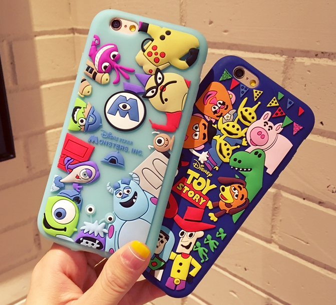 Iphone 7 Plus Toy Story Case Cute Cartoon Monsters Sully Cases For Iphone 5 5s Se 6 6s Plus Cover Iphone 7 Plus Cases
