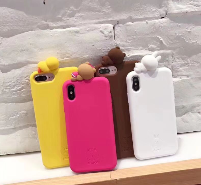 cute bear iphone xs case