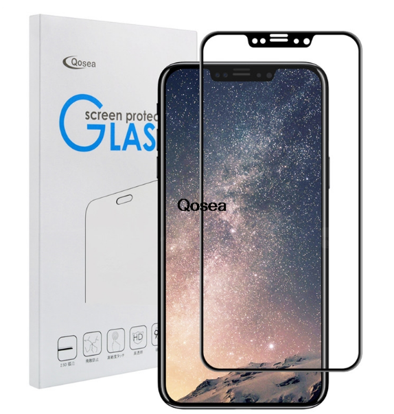 premium selection bc7d9 cbc8a iPhone X Explosion Proof Premium Tempered Glass Film For Iphone 10 ...