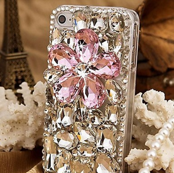 cheap for discount 083e6 bd354 Jeweled Rhinestone iPhone 7 Plus Bling Cases Diamond Cover For ...
